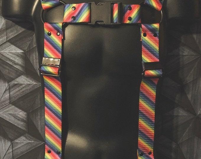 Front Buckle Pride Bulldog Suspenders