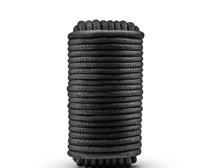 Temptasia - Bondage Rope - 32 Feet - Black
