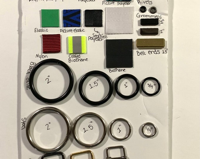 Custom Order Sample Board