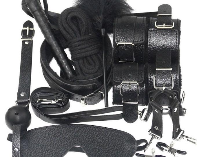 10 Piece BDSM Kit