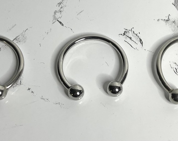 Stainless Steel Penis Ring and FREE gift