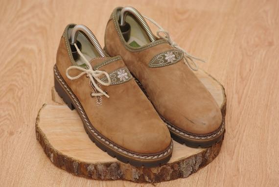 Original KILVANA Genuine boots Leather Bavarian T… - image 1