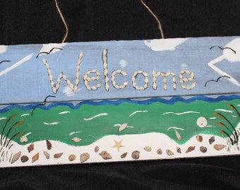 Beach Scene Welcome