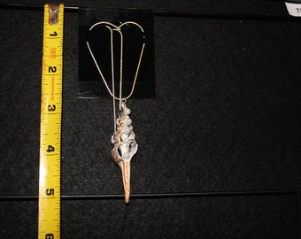 Spindle and Pearl Neckless