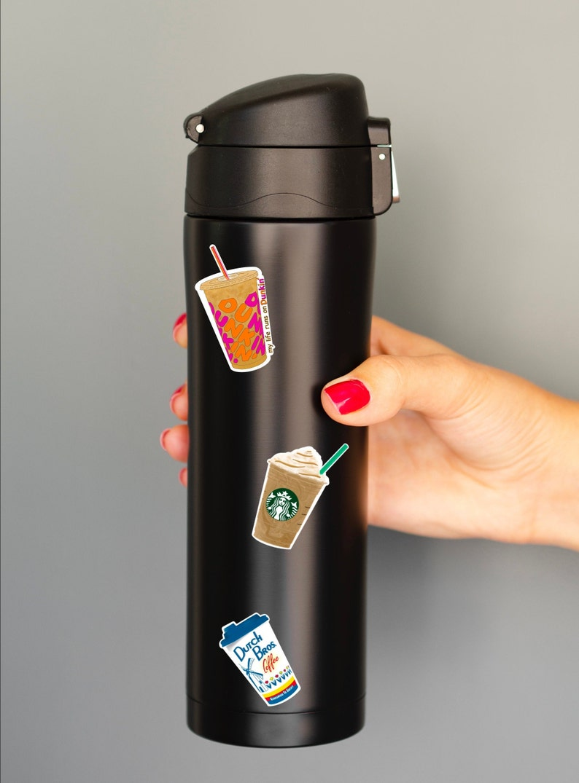Starbucks Coffee Sticker  Coffee Sticker  Starbucks Frappe  Mini Sticker  Gifts Under 5