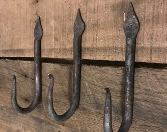 Hand Forged Decorative Coat Hook/Wall Hook