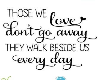Those We Love Svg Etsy