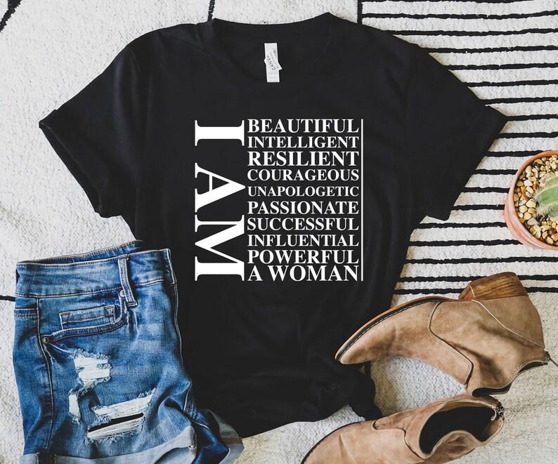 svg Affirmation Positive words svg Affirming words svg Empower png Intelligent I am a woman svg unapologetic svg Motivating