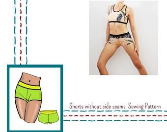 Shorts Sewing Pattern, pole dance, sport wear, swim wear,underwear, lingerie PDF sewing patterns