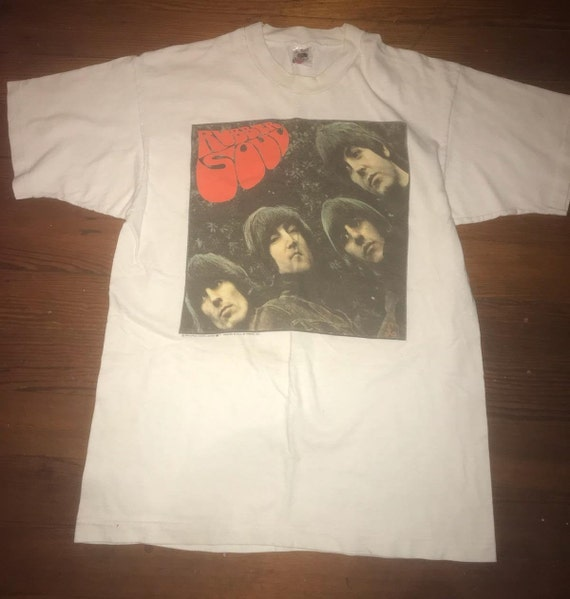 Beatles Rubber Soul tshirt