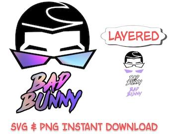 Bad Bunny Svg Etsy