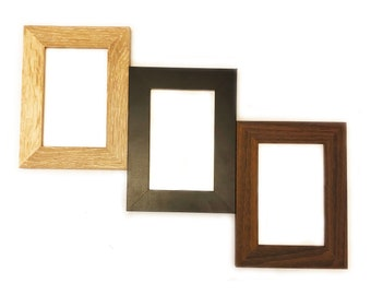 With Acrylic Front and Foam Board Backi 9x9 Metallic Bronze Wood Picture Frame