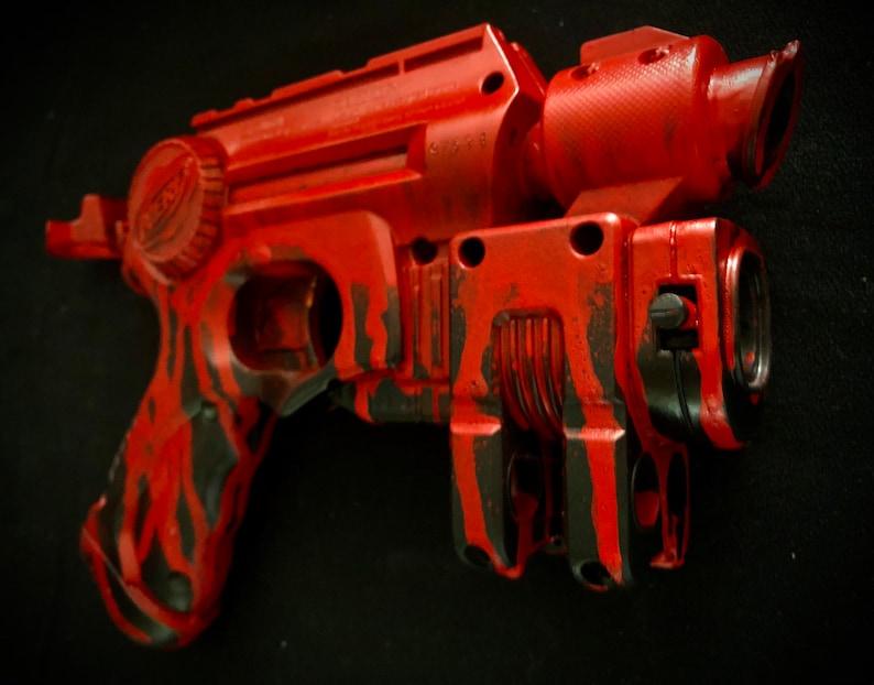 Nerf \u201cThe Ripper\u201d Custom Painted Blaster