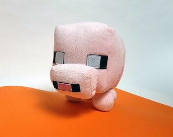 Minecraft Plüsch Schlüsselanhänger Baby Schwein