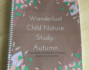 Autumn Wanderlust Child Nature Study