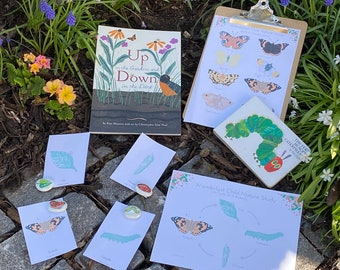 Digital Download Butterfly Nature Study
