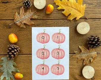 PDF Download: Harvest and Pumpkins