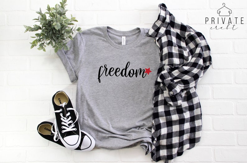 Freedom T Shirt 4th of July Shirt Women Womens 4th of July image 0