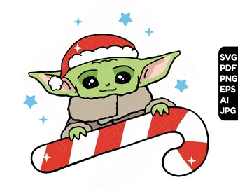 Yoda Svg File Etsy