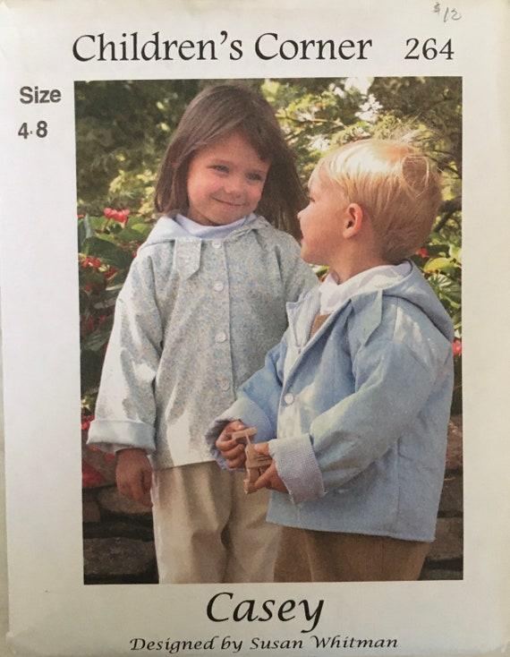 THE CHILDREN/'S CORNER PATTERNS ~ ANNE-REVISED ~ CHILDS SIZES 10-12 ~ #5