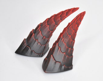 Small horns for cosplay