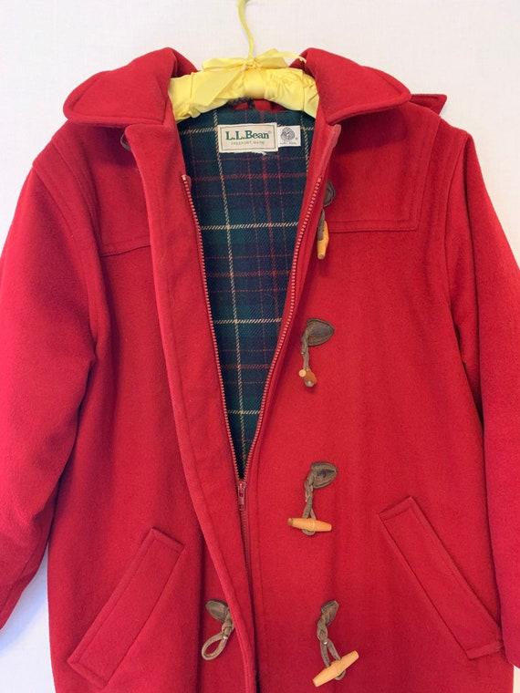 L.L. Bean Vintage Duffel Coat