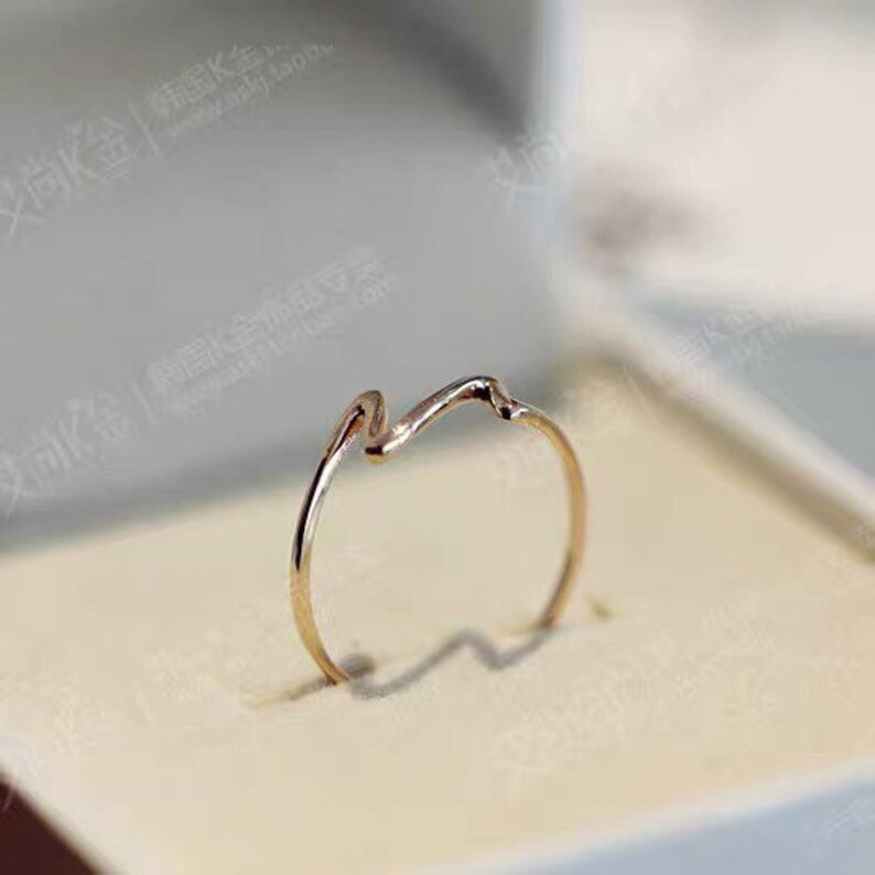 14k gold ring.