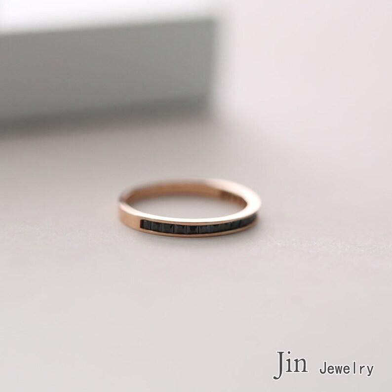 14k goldrose gold ring.