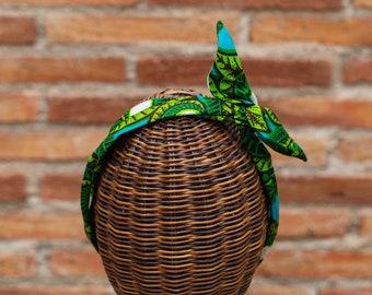 HAIR ACCESSORY, headband set, hairband, tiara, Africa print fabric, ethnic turban, primera comunion, regalo boda,
