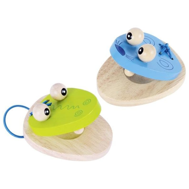 Toys Wooden Castanets