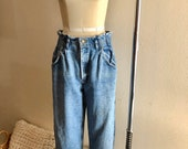 80s Jeans, Pants, Leggings Vintage 80s Lee high waisted tapered mom jeans size 11 runs smaller $34.00 AT vintagedancer.com