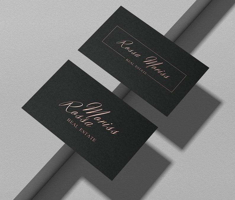 Signature Real estate logo design  handwritten realtor Modern image 0