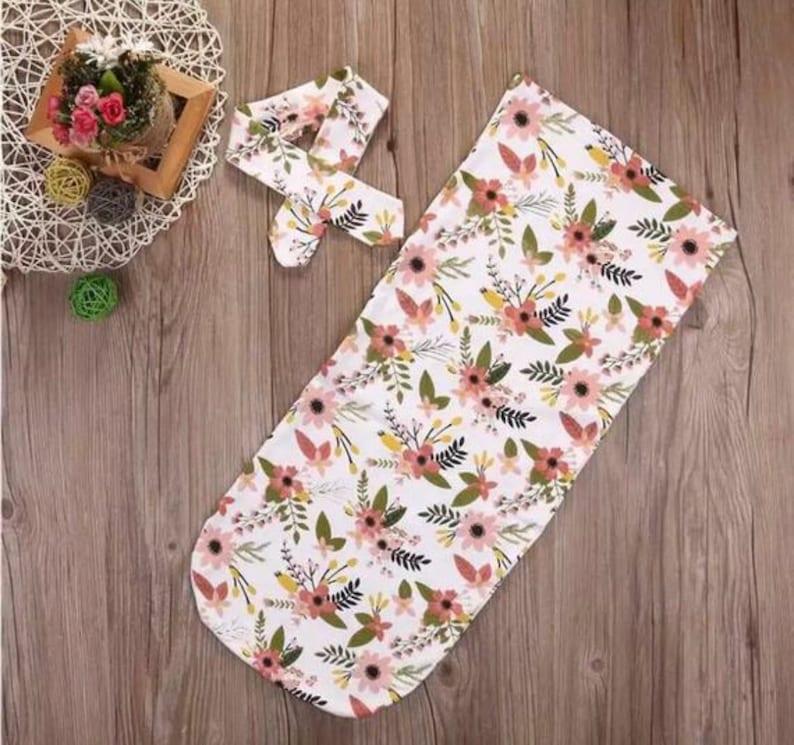 Floral Swaddle Sack