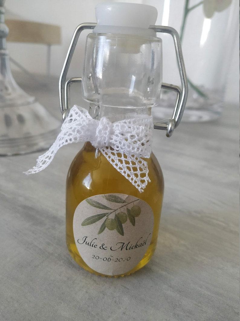 Lot 10 vials of olive oil
