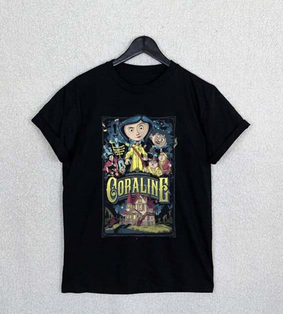Coraline Shirt New Design Famous Shirt Logo Men And Women Etsy