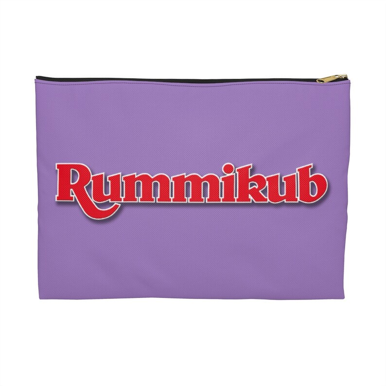 Violet Rummikub Tile Bag Rummikub Travel Pouch Storage Bag for Rummikub Tiles Rummikub Travel Bag Storage Case for Rummikub Game