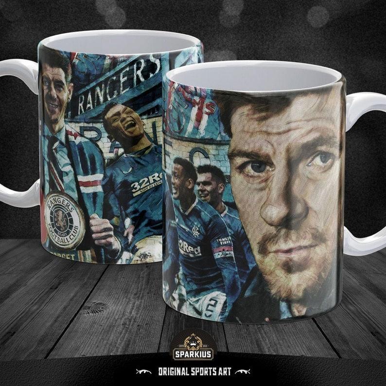 Rangers FC  '55 & Counting'  Art Mug image 0