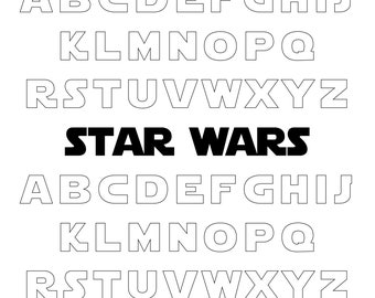 Star Wars Pdf Etsy