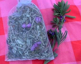 Lavender and sage sachet - perfect gift for Mother's Day or self care treat
