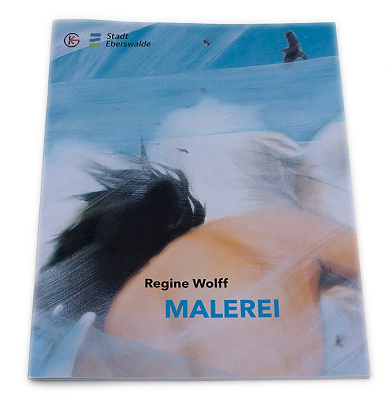 Art Catalogue Regine Wolff MALEREI Exhibition Catalogue  27 image 0