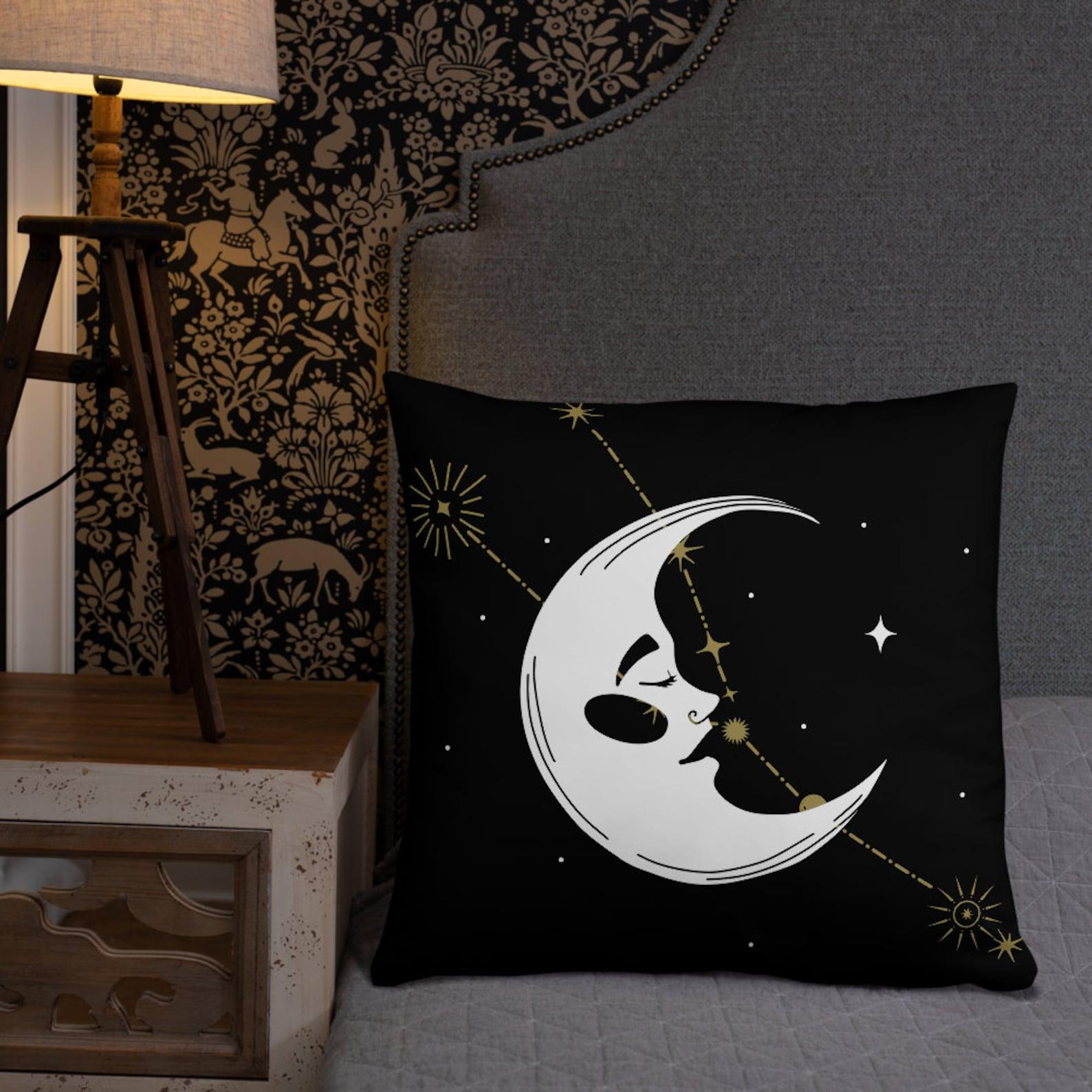 Wicca Home Decor Mond Sternzeichen Waage Fische Schütze | Etsy
