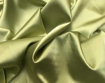 Cookies Stretch Silk Satin fabric by the Yard Heavy Satin Width 46 inch A241