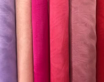 Crystal Organza fabric - Solid Sheer Organza fabric - Fabric by the Yard