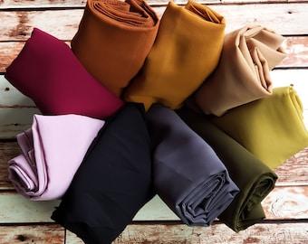 Chiffon Scarf | Chiffon Hijab | Light Weight Scarf | Head Wrap | Turban