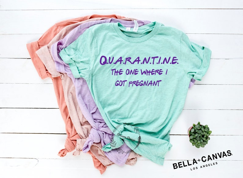 The One Where I'm Pregnant Shirt Become a Mommy Shirt
