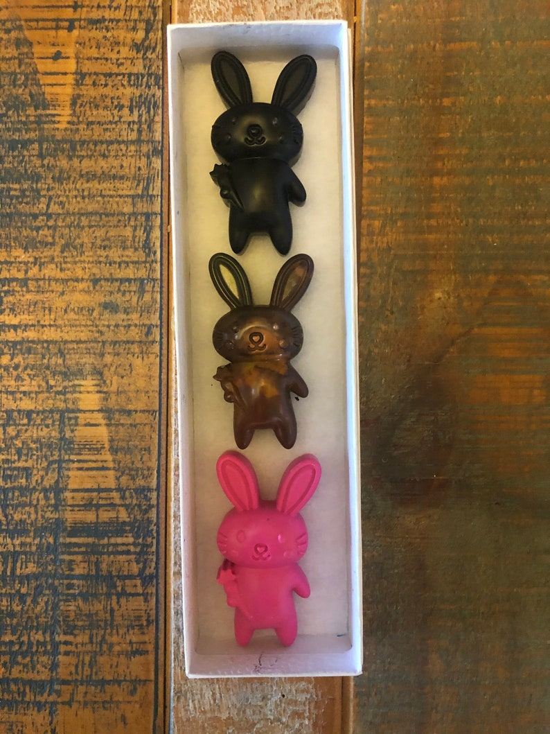 Patricks Day Crayon Easter Graduate Stocking Stuffer Big Bunny With A Carrot Crayon Set of 6 Teacher Kid Party Christmas St