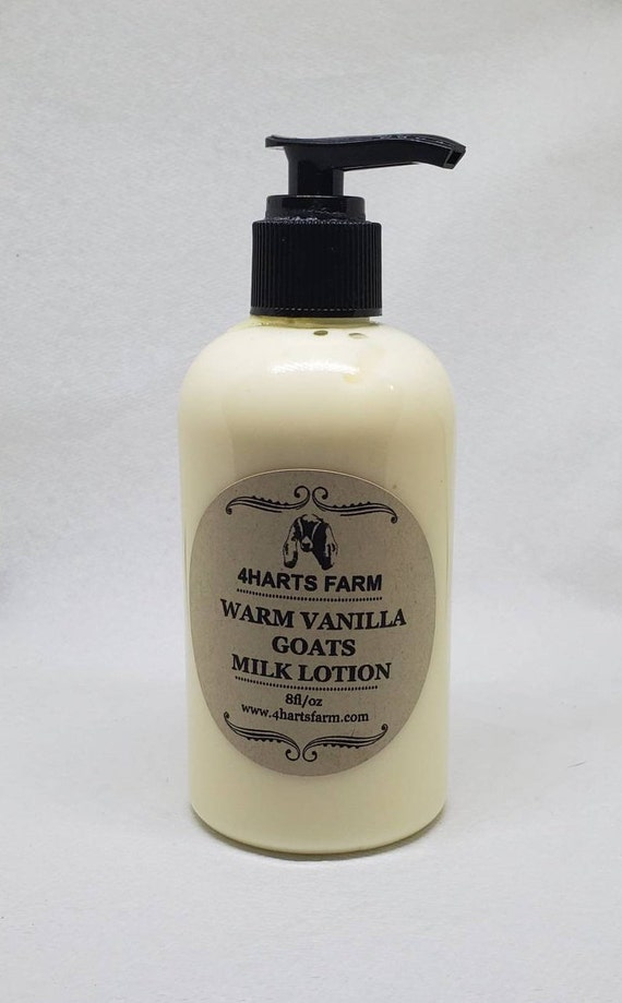 Warm Vanilla Goats Milk Lotion