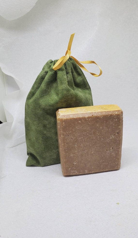 Bourbon and Wood Goats Milk Soap