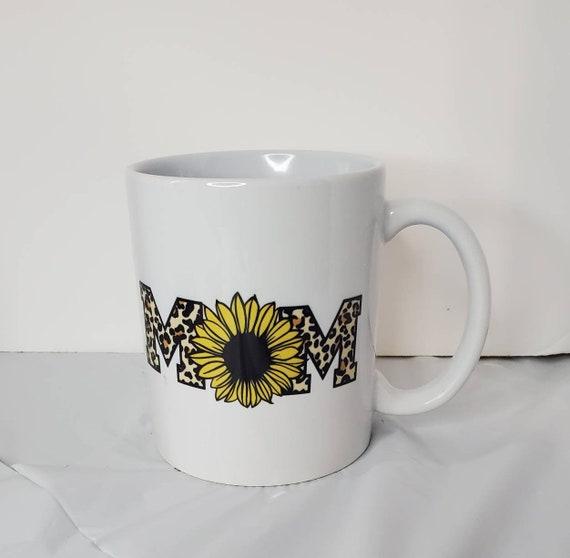 Mom Sunflower Coffee Mug