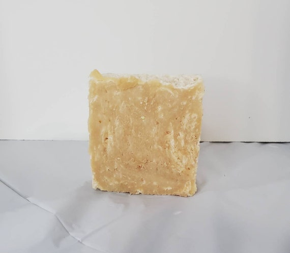 Unscented Oatmeal and Honey Goats Milk Soap